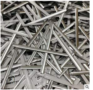 Niocase 100 pcs DIY Aluminium Pont de Nez pour la Bande, Pince-Nez Pont de Protection Bricolage, Masques Fil Flexible Est Fixé dans La Zone du Pont Nasal, Support Réglable Étain (90 * 5 * 0.5MM)