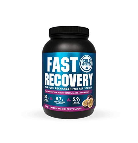 Goldnutrition Fast Recovery 1kg, Maracuyá, Bebida de Recuperación