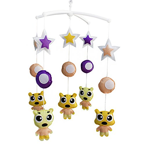 Panda Legends Juguete de Cuna móvil de Cuna móvil Hecho a Mano para habitación de guardería móvil para niñas niños