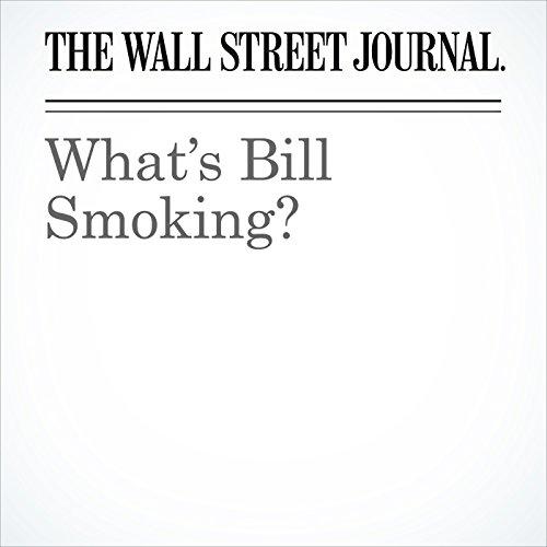 What's Bill Smoking? copertina