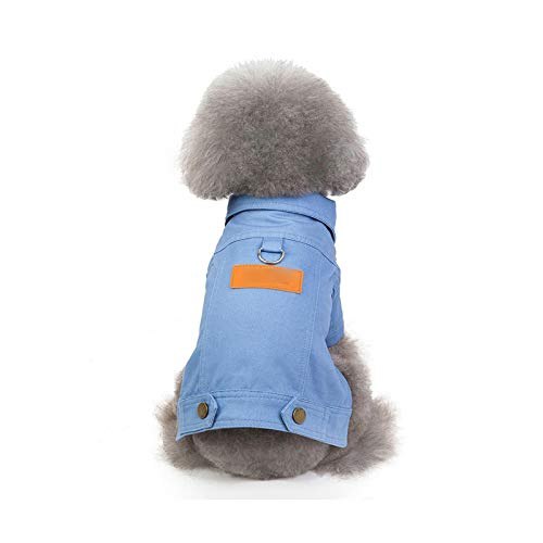 Pet Supplies  Chaqueta para perro, invierno, abrigo de lujo para perro, ropa vaquera, chihuahua, caniche, bichn, ropa para animales de compaa, burgundy-Size 1