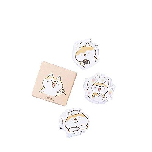 Holo Cute Niedlicher Cartoon Tier Selbstklebende Papier Sticker