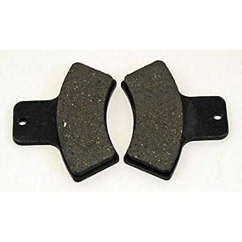 2201189 2202411 Rear Brake Pads for Polaris Scrambler 400 4X4 1998-2002