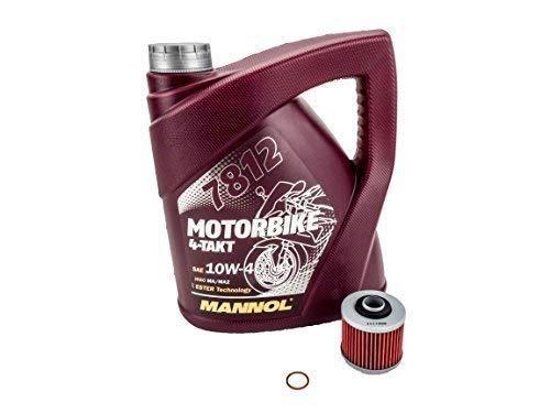 Öl + Ölfilter Set passend für Yamaha MT-03 RM02 2006-2013