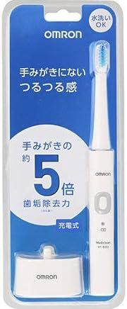 オムロン 電動歯ブラシ HT-B303-W ホワイト 充電式