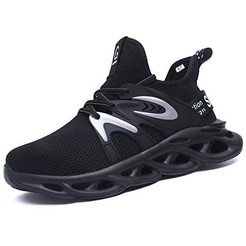 [ziitop] 安全靴 作業靴 メンズ レディース 鋼先芯(JIS H級相当) セーフティーシューズ スニーカー 黒 ワーキングシューズ 通気性 軽量 防臭 防滑 防刺 絶縁 23.0~29.0cm