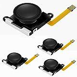 Rumfo 4Pcs 3D Analog Thumb Joystick Sticks Sensor Joystick Replacement Repair Parts, for Nintendo Switch NS Joy-Con Controller (Set A)