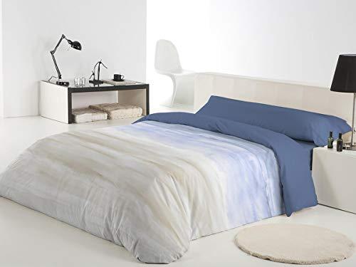Reig Marti Funda NÓRDICA Estampada 3/Piezas Modelo: Akio, Color: 03, Medida: Cama DE 90x190/200cm.