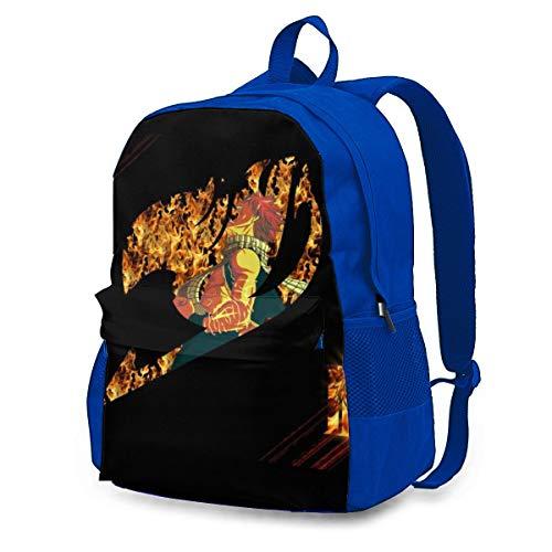 Childrens School Bag Fairy-Tails 0 Casual Shoulder Bag Sports Rucksack Casual Backpack for Men/Women/Kids Blue 145527292