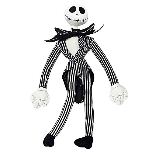 Jack Skellington Plush Doll - Nightmare Before Christmas Toys - Pumpkin King Plush Stuffed Toys Baby Dolls, 20 Inches