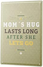 "Bestauseller Tin Sign XXL Sayings Mama Cuddling 12""X8""(20x30cm)"