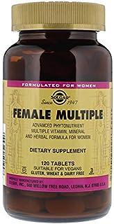 SOLGAR Female Multiple Tablets, 120 Count