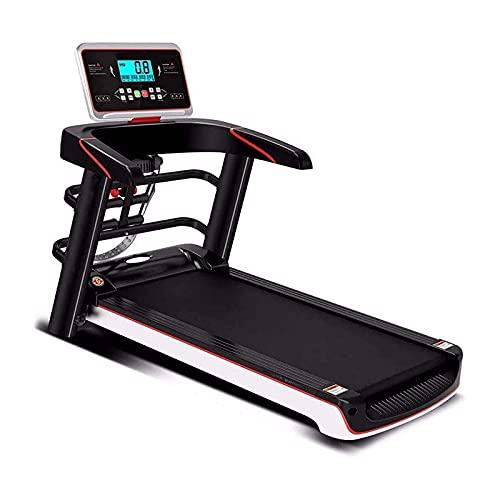 WASDY Cinta de Correr, máquina de Correr para Caminar en casa - Programas de Funcionamiento, cinturón de Carrera de 12 velocidades Ajustable, Ajustable de 12 velocidades