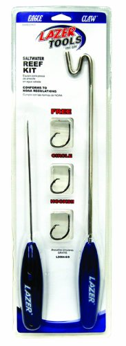 Eagle Claw Reef Kit De-Hooker, Venting Tool and Circle Hook