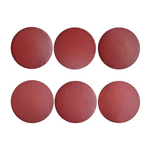 Discos De Lija 30 Piezas 225mm Disco Adhesivo Lijadora Discos De Pulir 9-Pulgadas (5 Unidades De Cada 80 100 120 180 240 400 Grano)