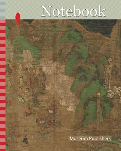 Notebook: 仏伝図 頻毘沙羅王帰依, Life of the Buddha: King Bimbisara's Conversion, Muromachi period (1392–1573), early 15th century, Japan
