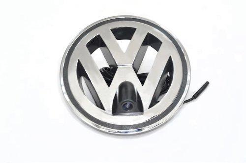 XCarlink Front-Kamera für Volkswagen im W - perfekt & unauffällig ins Front-Emblem integriert