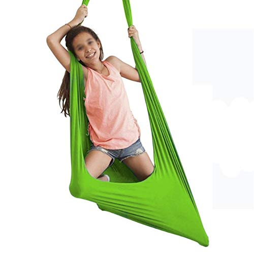 ZCXBHD Therapy Swing Indoor Therapy Swing Cuddle Hammock Large Soft Therapy Swing for People with Autism ADHD Aspergers Great for Sensory Integration