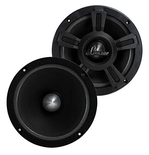 "LANZAR OPTI6MI 6.5"" 1000W Car Mid bass Mid Range Audio Speakers PAIR"
