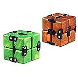 EACHHAHA Juego de 2 juguetes para aliviar el estrés y aliviar la ansiedad y aliviar el estrés, adecuados para niños y adultos