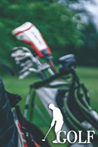 GOLF: Puntaje de golf: Registro del campo de golf para rastrear estadísticas de puntaje de golf - Regalo perfecto para cualquier golfista, aficionado o profesional - 6 x 9 pulgadas - 151 páginas