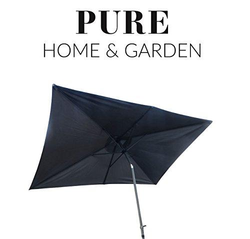 Pure Home & Garden -   Kurbelschirm