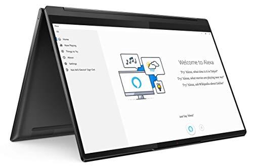 "Lenovo Yoga 9 - Portátil Convertíble 14"" FullHD (Intel Core i7-1185G7, 16GB RAM, 1TB SSD, Intel Iris Xe Graphics, Windows 10 Pro), Lenovo Integrated Pen, Negro - Teclado QWERTY Español"