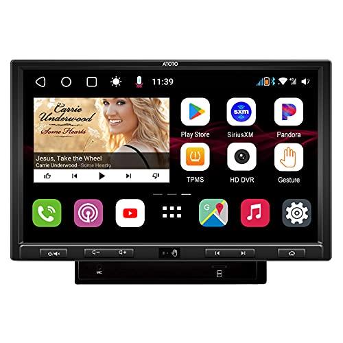 Navegación de Video del automóvil ATOTO S8 Gen 2 Ultra Plus Android en el Tablero, S8G2109UP-A, BT...