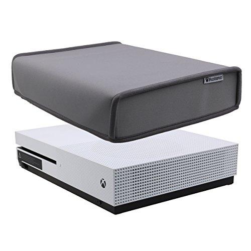 Pandaren prova di polvere neoprene cover manicotto della copertura per Xbox One S console orizzontale posizione (grigio)