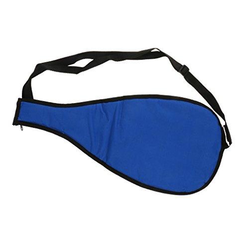 Sharplace Bolsa de Nailon para Remos de Kayak, Accesorios de Navegación, Funda Protectora de Surf - Azul, 57 x 26,5 cm