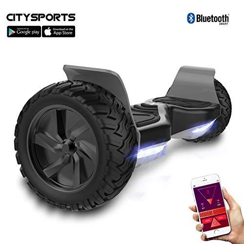 "CITYSPORTS 8,5\""Offroad Balance Board, Balance Board Elektroroller Hummer SUV, Bluetooth und App, 700W"