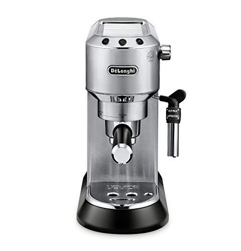 DeLonghi EC685M Dedica Deluxe Automatic Espresso Machine, 1, Metallic