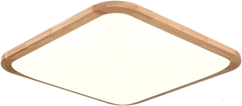 oferta de tienda ZR Simple Simple Simple luz de Techo LED Exquisita Plaza decoración nórdica salón Dormitorio Comedor habitación Infantil lámpara 4400K luz blancoa cálida 18W  gran descuento