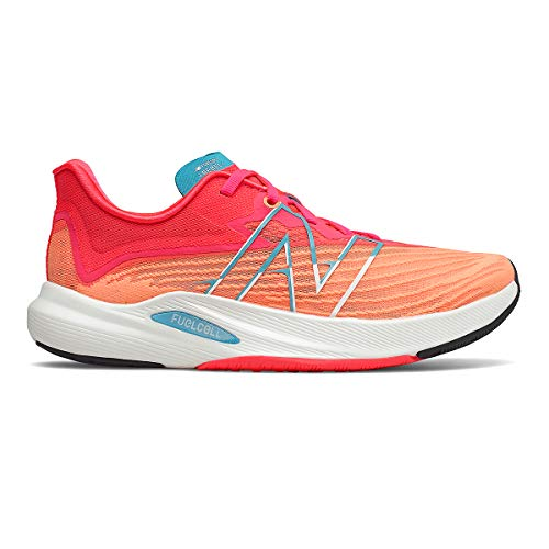 New Balance FuelCell Rebel V2 Womens Running Shoes SS21 7 Orange