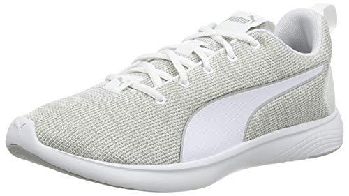 Puma Softride Vital Clean, Herren Straßen-Laufschuh, Weiß-Grau-Violett