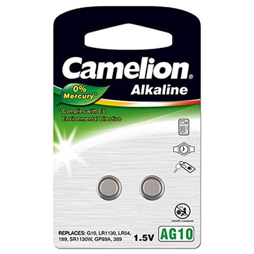 Camelion Knopfzelle LR1130 2er Blister, Alkaline, 1,5V