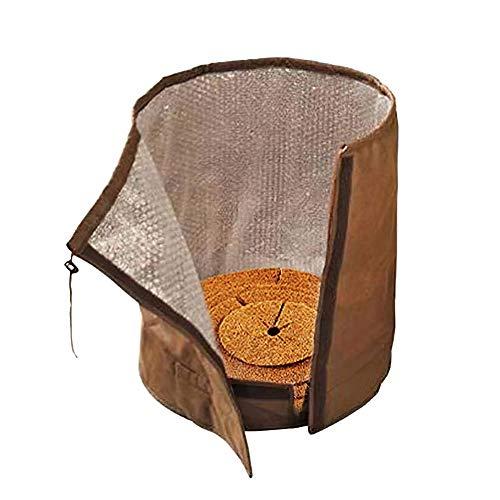 Heavy Duty Blumentopf Schutzhülle, Isolierung Topf Tasche Blumentopf Schutzhülle Pflanze Thermo UV-Schutz für den Winter -middile