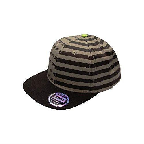 Musclepharm Sportswear Snapback Hat MP Nation Black/Grey One Size (SBNAT)