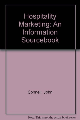 Download Hospitality Marketing: An Information Sourcebook 0952111829