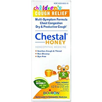 Boiron Children s Chestal for Cough Syrup Honey 4.20 Ounce