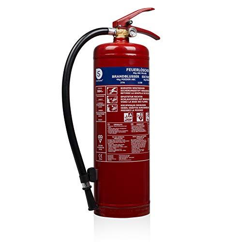 Smartwares SW BB1 brandblusser 4 kg poederblusser. 4 kg rood