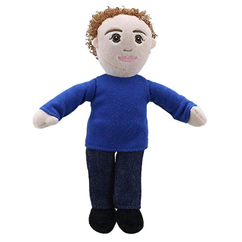 The Puppet Company Tono De Piel Clara Dad Marioneta de Dedo