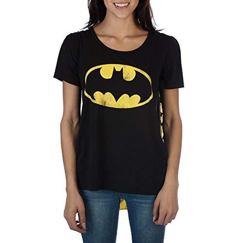 Batman Frauen ES Austauschbare Cape Kostüm-T-Shirt Kleine