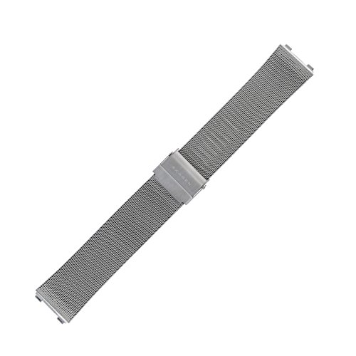 Skagen Uhrenarmband 20 mm Edelstahl Silber XL - 233XLSBPL