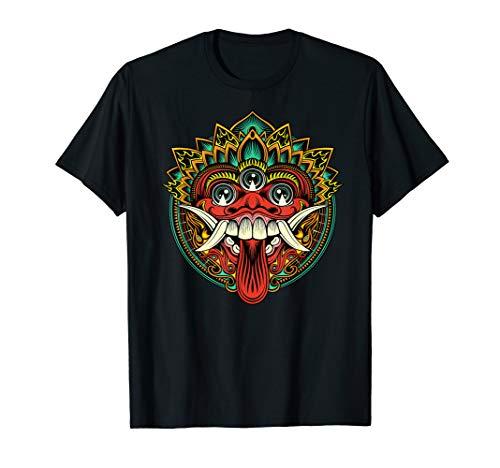 Indonesian Balinese Barong Bali Dance Mythology Demon King T-Shirt