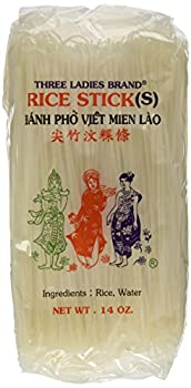 Three Ladies Rice Stick size small  S .14 oz Package  3 Pack