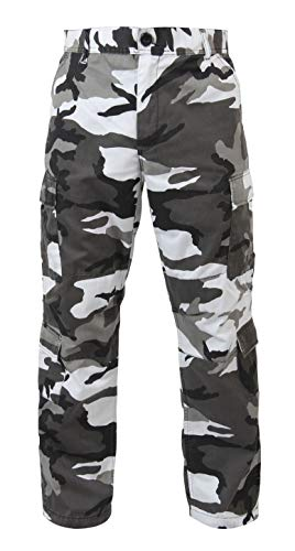 Rothco Vintage Camo Paratrooper Fatigue Pants, City Camo, 2XL