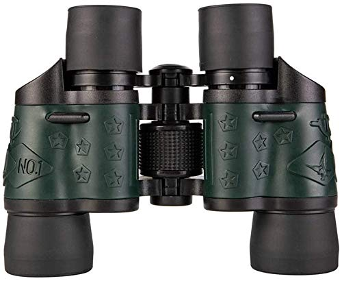 ZOUSHUAIDEDIAN Mini prismáticos 60x60, Alta Potencia de los prismáticos de Bolsillo for conciertos, Teatro, Viajes, BK4 de prismas FMC Lens Kid prismáticos for observar Aves