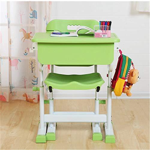LERDBT Kinderschreibtische Kinder Study Desk & Chair Set Hebe Schreibtisch Schule Schreibtisch und Stuhl Student Reading und Schreibtisch Für Junior Mädchen Jungen (Color : C3, Size : ONE Size)