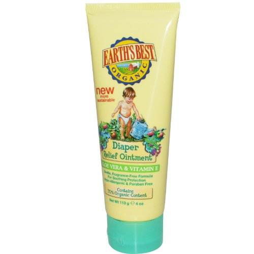 Earth's Best Diaper Relief Ointment-4 oz Ointment
